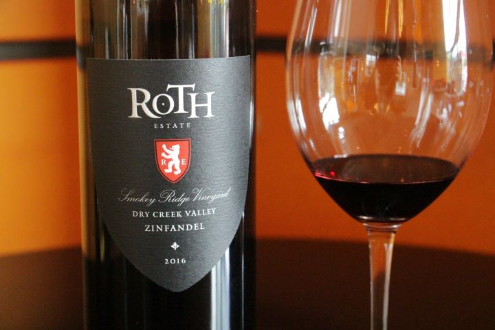 2016 Roth Zinfandel Smokey Ridge Vineyard, Dry Creek Valley