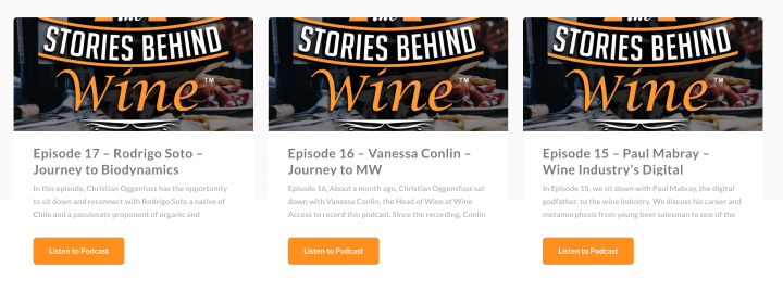 Stories Behind Wine Podcast Cover