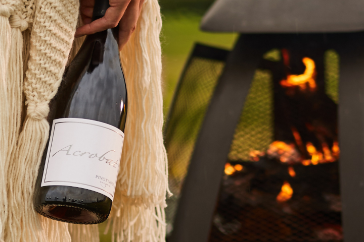 Acrobat Pinot Noir By The Fire