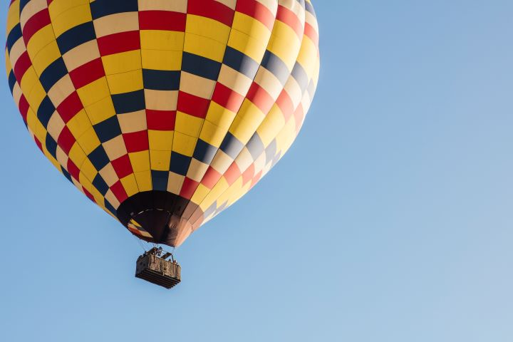 Hot Air Balloon in Sonoma County