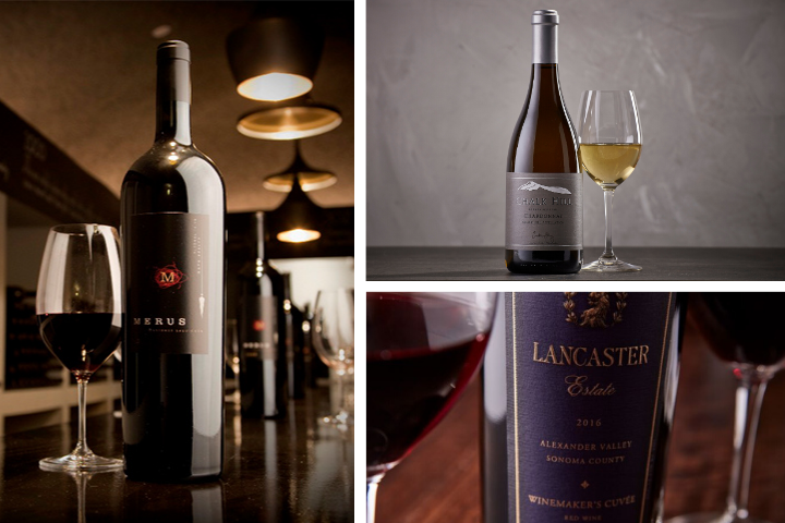 Chalk Hill, Lancaster, and Merus Wines