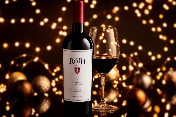 Roth Cabernet Sauvignon and Holiday Lights