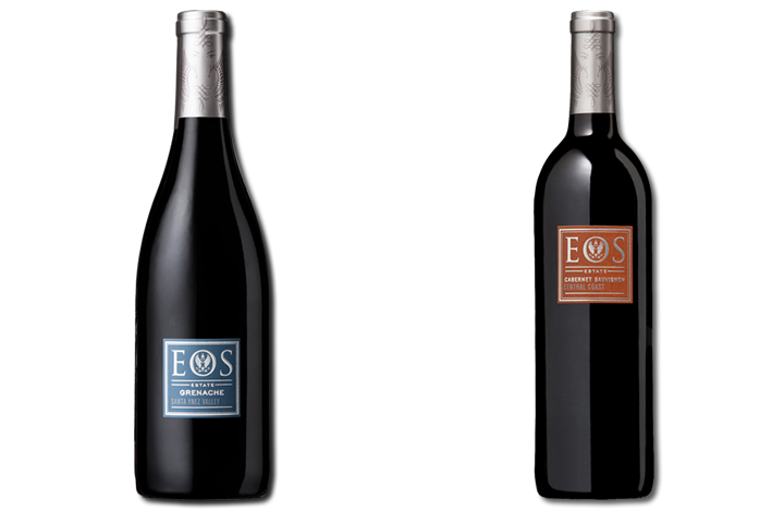 2 Bottles of Eos Red Wine