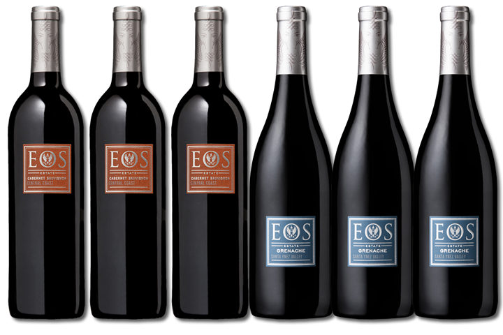 6 Bottles of Eos Red Wine