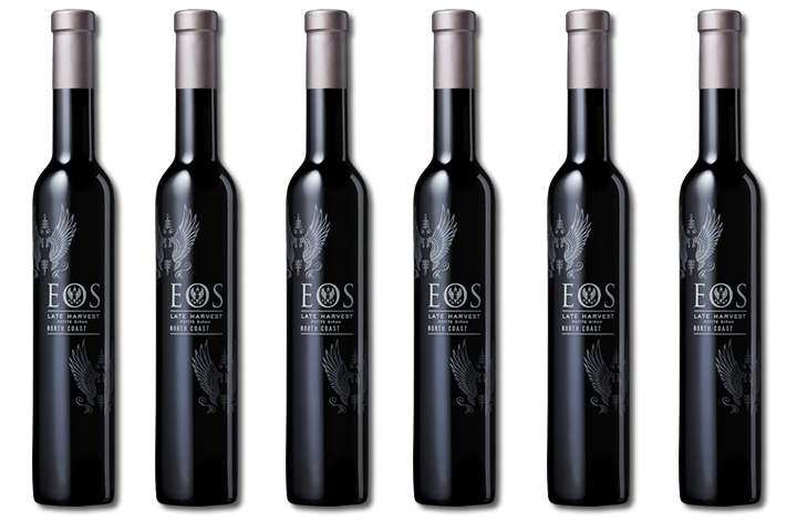 6 Bottles of Eos Sweet Wines