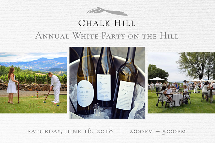 5th Annual White Party on the Hill - Saturday, June 16, 2018 from 2-5pm