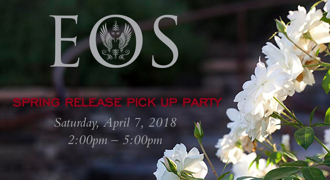 Eos Spring Release Wine Club Pick Up Party