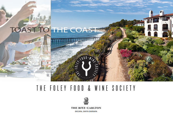 Toast to the Coast - Foley Food & Wine Society Event Saturday, August 25, 2018