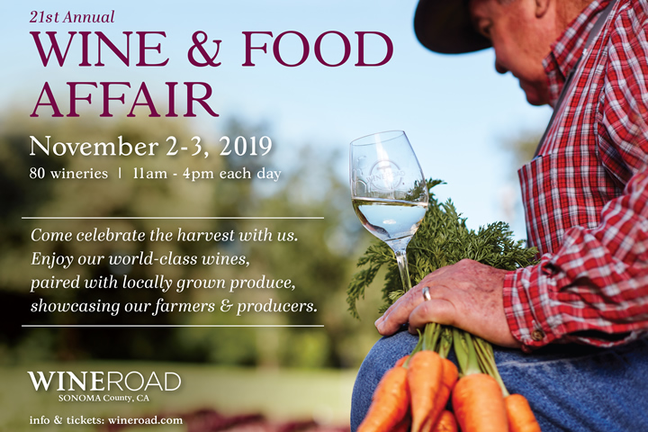 21st Annual Wine & Food Affair Nov 2-3, 2019