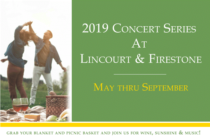 Friday Night Music Series at Lincourt and Firestone