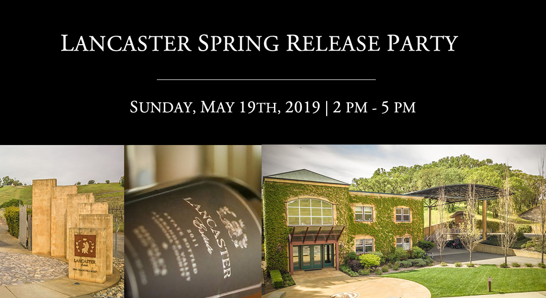 Lancaster Spring Release Party Saturday, May 19th