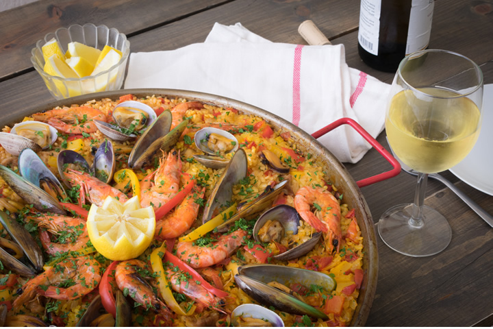Paella Party at Langtry