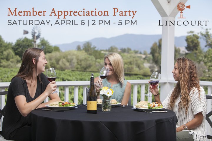Lincourt Vineyards Wine Club Member Appreciation Party