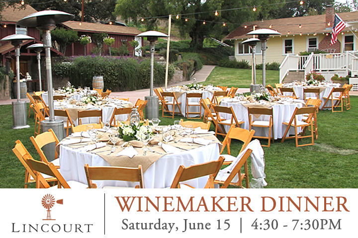 Lincourt Winemaker Dinner