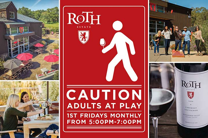 lawn games, wine and fun at Roth Estate