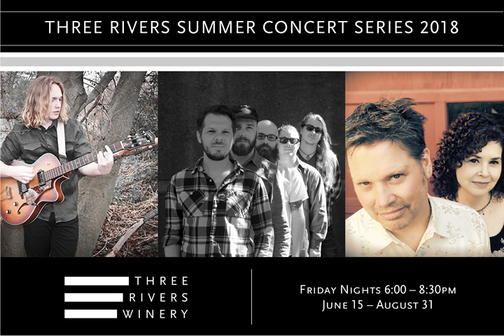 2018 Summer Concert Series at Three Rivers