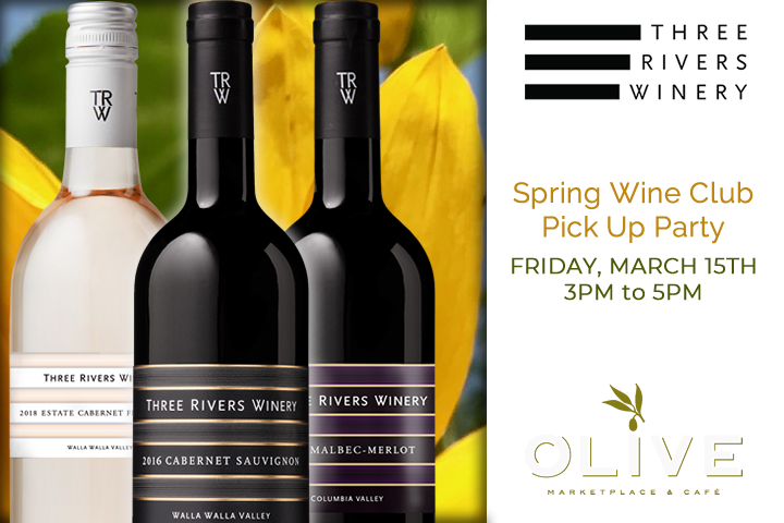 Three Rivers Spring Wine Club Pick Up Party