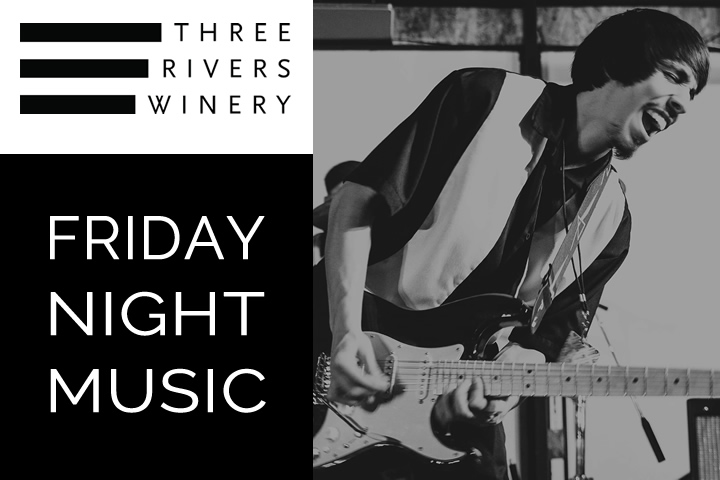 Diego and The Detonators at Three Rivers Winery