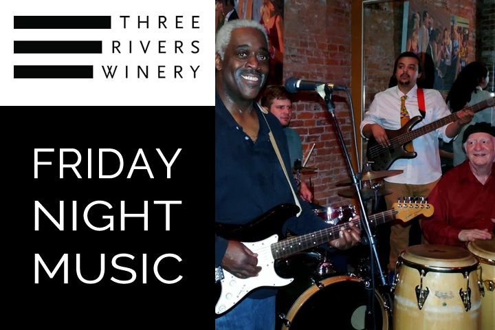 Gary Winston and The Real Deal at Three Rivers Winery