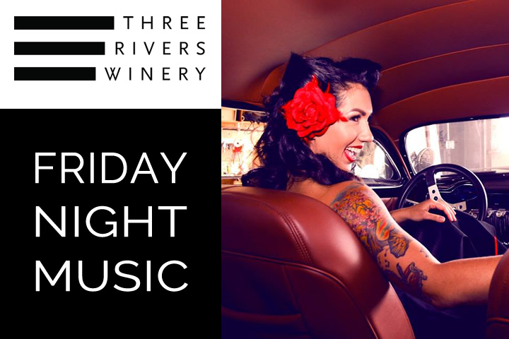 Friday Night Music at Three Rivers with Jamie Nosario
