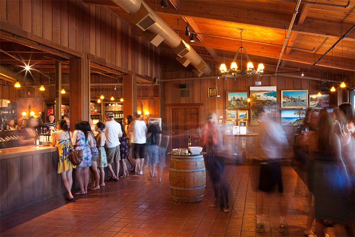 People Tasting Wine at the Firestone Tasting Room