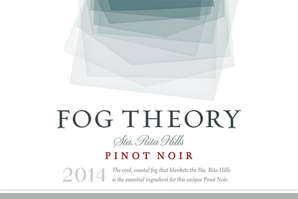 2014 Fog Theory Pinot Noir Front Label