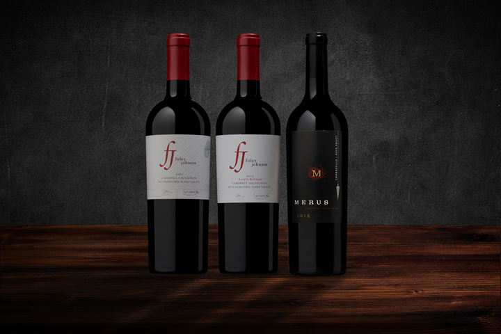 Foley Johnson Luxury Cabernet Sauvignon Vertical