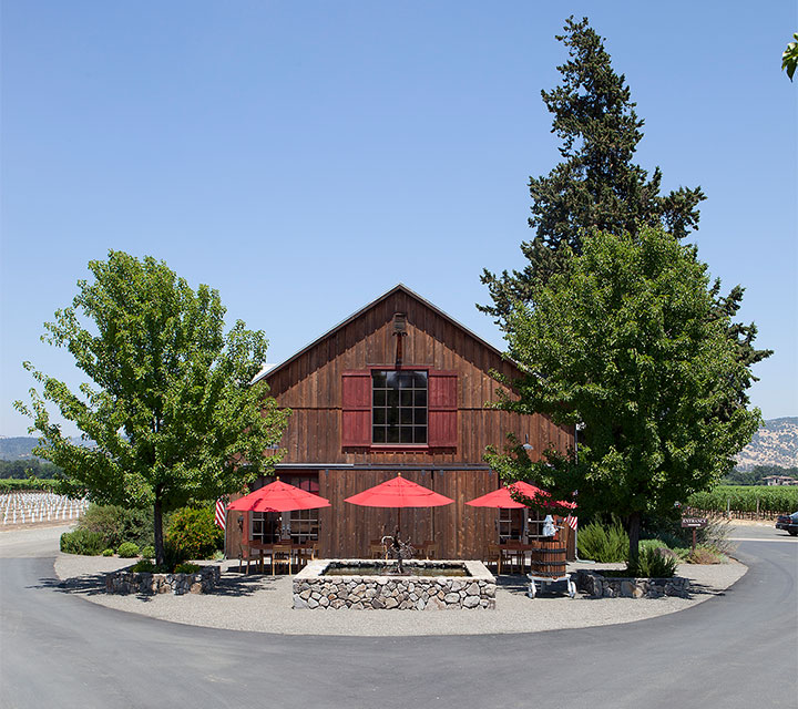 Foley Johnson's Converted 1920's Redwood Barn Hospitality Center
