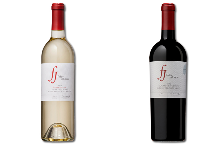 2 Bottles of Foley Johnson Red and White Wine