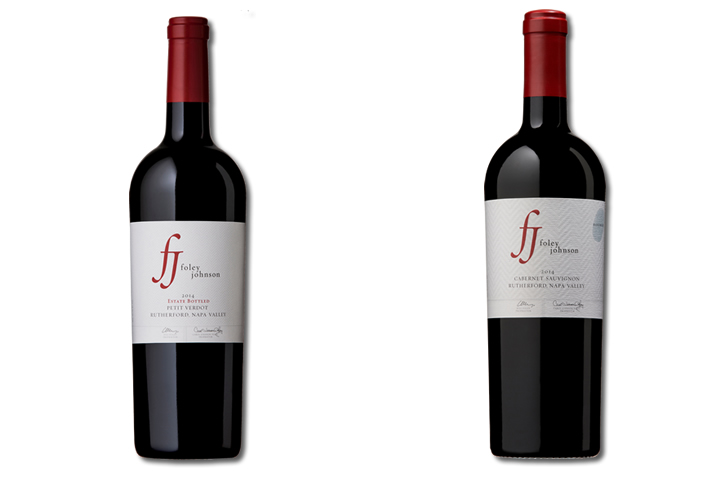 2 Bottles of Foley Johnson Red Wine