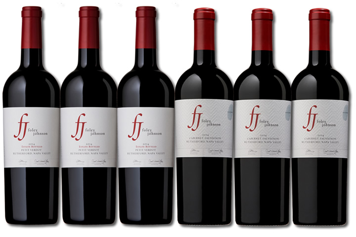 6 Bottles of Foley Johnson Red Wine