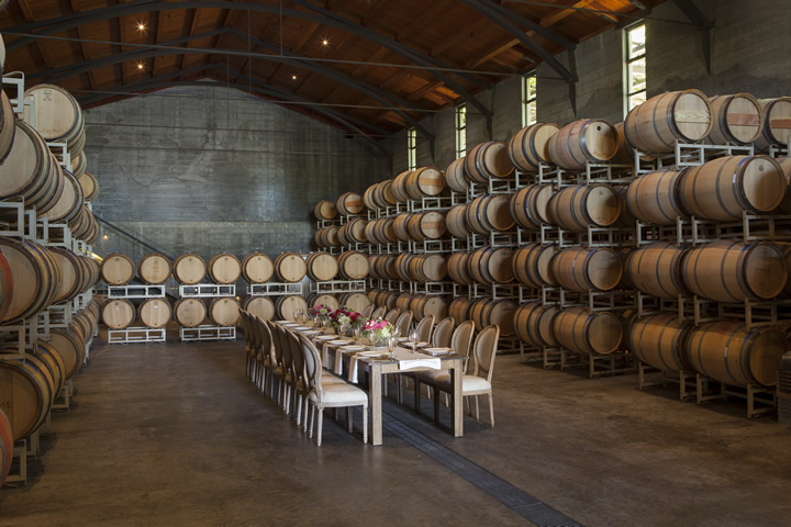 Foley Sonoma Private Event Venue - Barrel Cellar