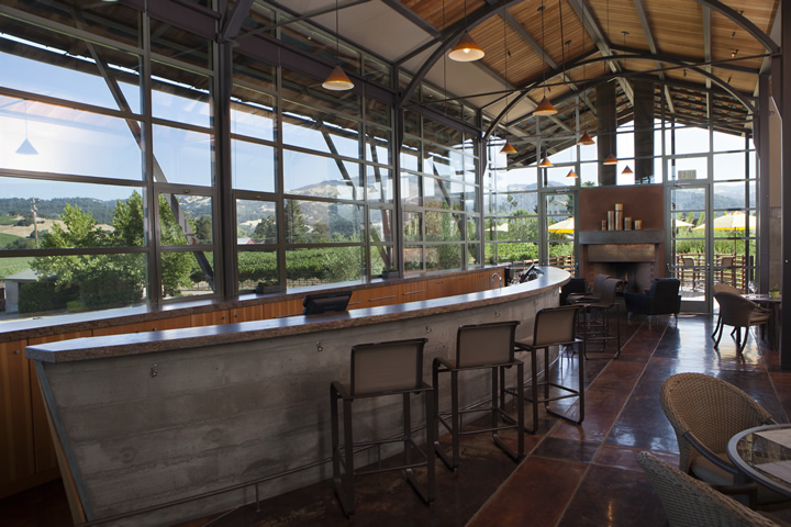 Foley Sonoma Private Event Venue - Tasting Room & Observation Deck