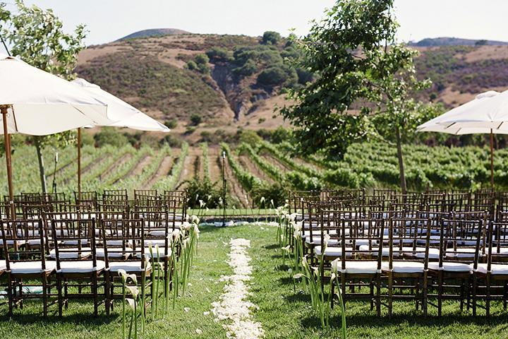 Weddings at Foley Estates in beautiful Sta. Rita Hills