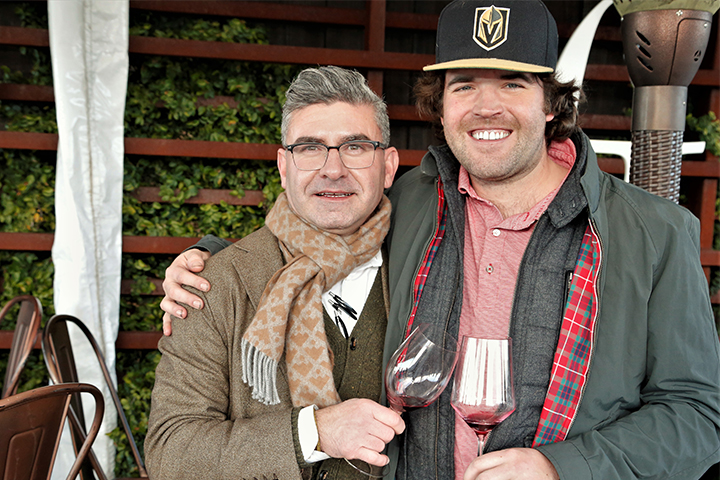 Master Sommelier Robert Smith and FJ Winemaker Patrick Foley