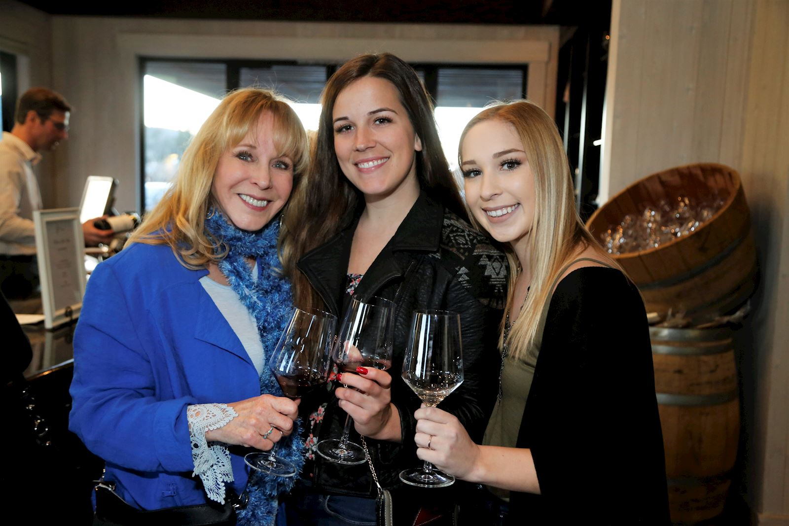 Women enjoying the Foley Johnson PNV Party