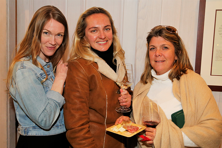 A group of women enjoying the PNV Party