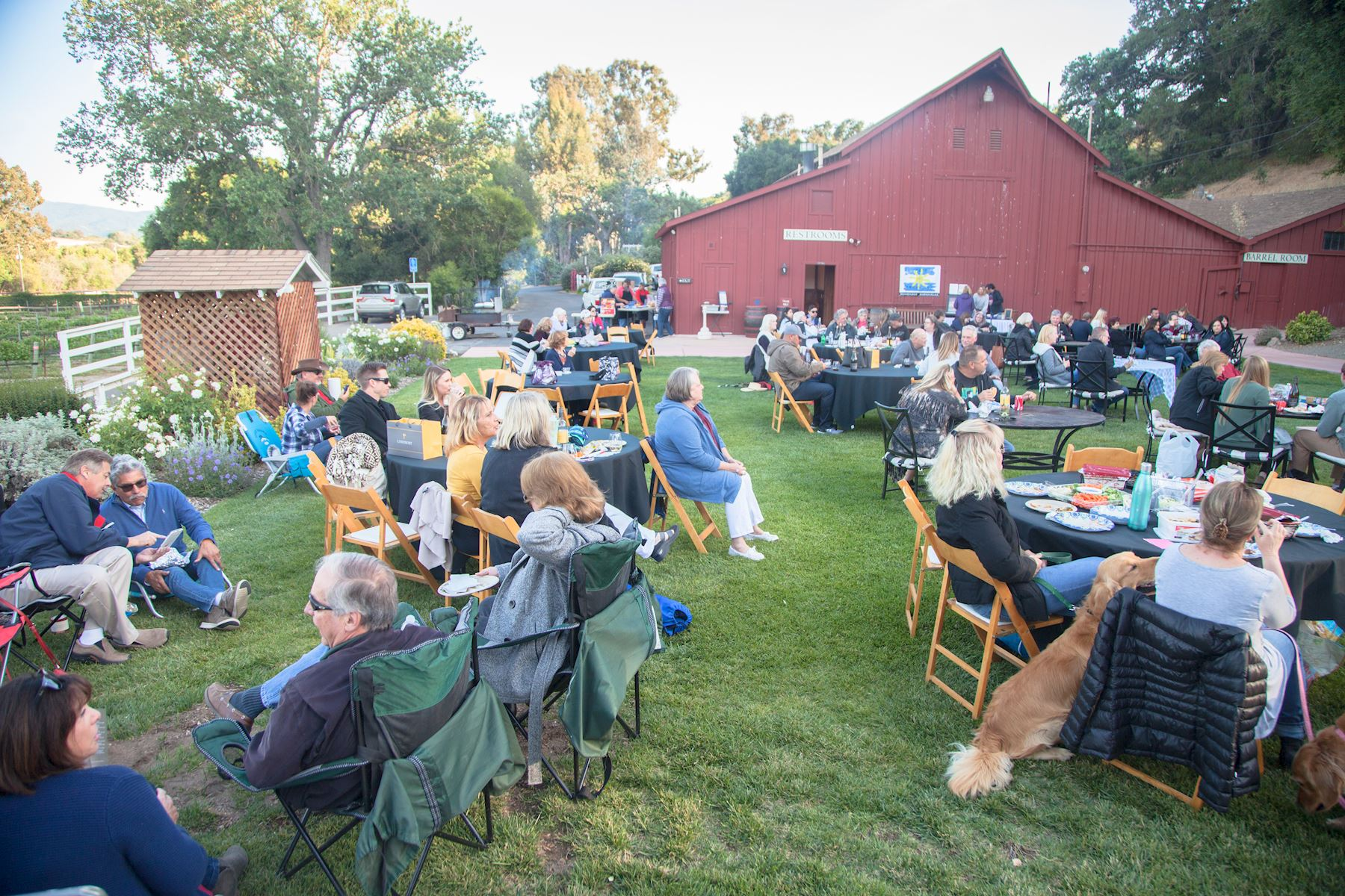 The crowd at the Lincourt Summer Concert Series