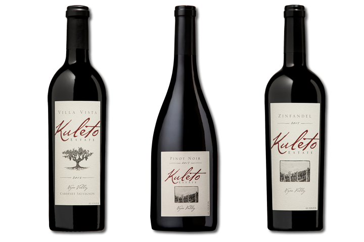 3 Bottles of Kuleto Red WInes