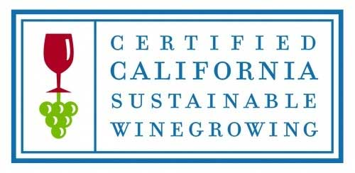 Certified California Sustainable Winegrowing Stamp