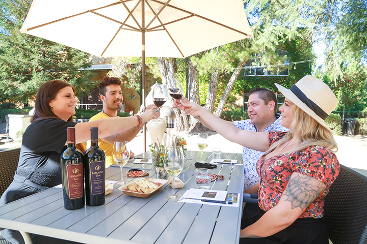 Lancaster's Lavender Alcove Picnic with Wine Experience