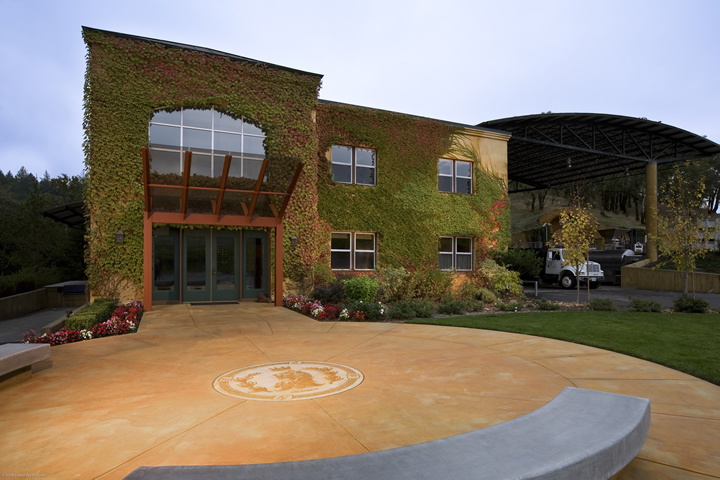 Front View of Lancaster Winery