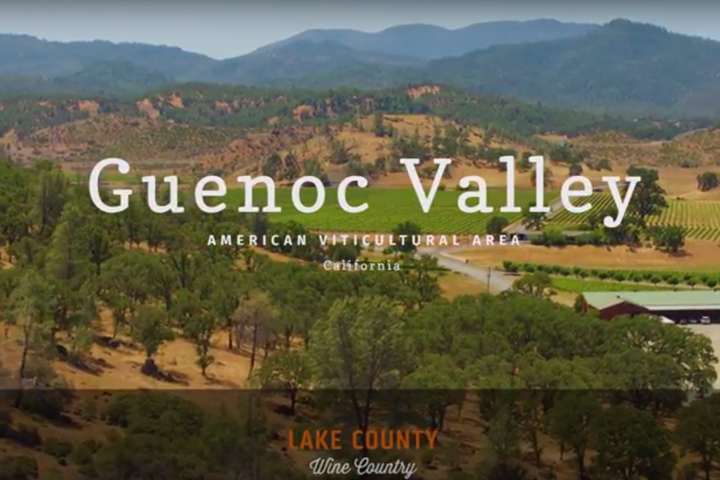 Guenoc Valley AVA Drone Flyover of Langtry Estate