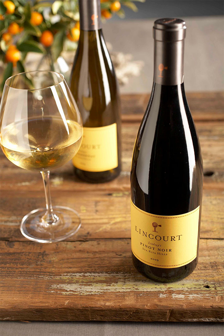 Bottle of Lincourt Pinot Noir