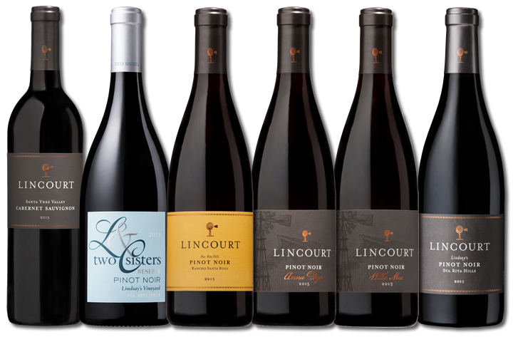 6 Bottles of Lincourt Red Wines
