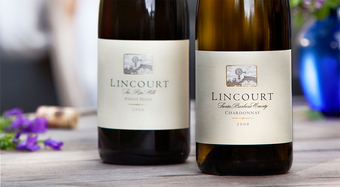 Two Bottles of Lincourt Wine