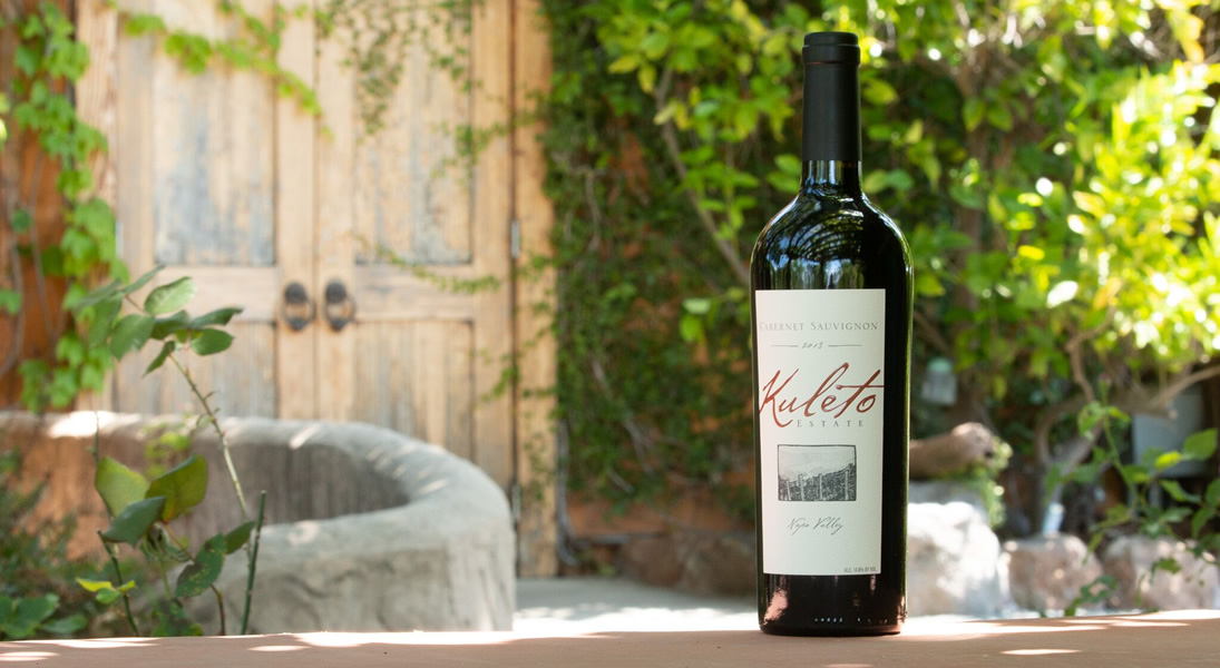 Kuleto Cabernet Sauvignon Enjoyed on the Terrace