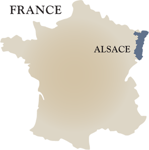 Our France Winery Map