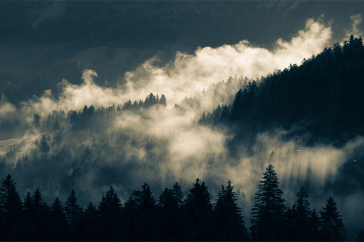 Fog Over Mountains