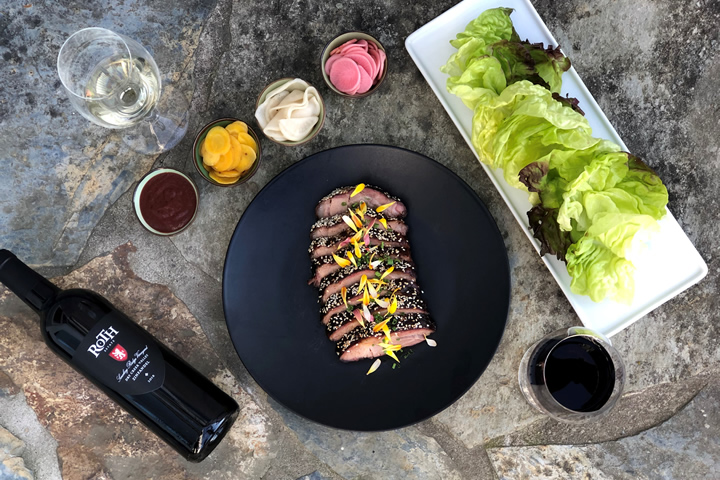 Korean BBQ Pairing with Roth Estate Wines